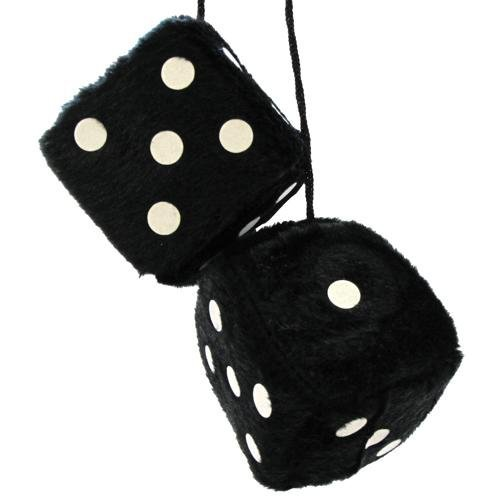 black-fluffy-furry-dice-hang-in-car-car-accessory