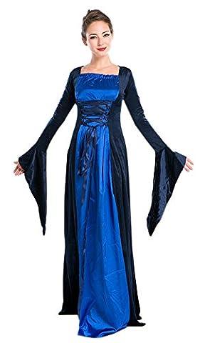 lifewheel Halloween Rétro Cour robe Masquerade Costumes Jeu Reine Vêtements