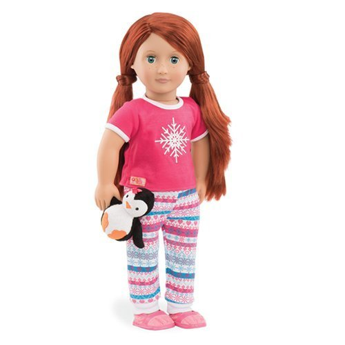 Our Generation Dolls Snow Adorable Snowflake PJS Outfit for Dolls, 18 by Our Generation (Adorable Outfits)