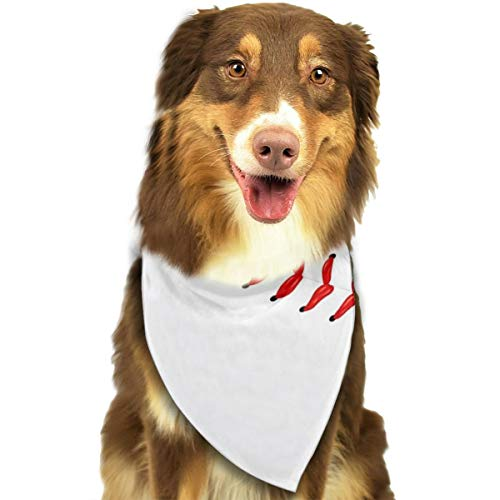 RAHJK Hunde Bandana,Weihnachts Kragen Schal Lätzchen, Dreieckstuch Halsbänder Haustier für Kleine, Mittelgroße Große Hunde Katzen Custume Exklusiv für Baseball