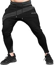 MECH-ENG Men's Gym Joggers Pants Fitness Casual Slim Fit Workout Sweatp