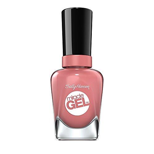 Sally Hansen Miracle Gel Nagellack, Farbe 244, Mauve-olous, beige / pink, 1er Pack (1 x 15 ml)