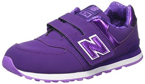 New Balance 574v1 Sneaker Unisex Bimbi Viola Purple 39 EU q3F