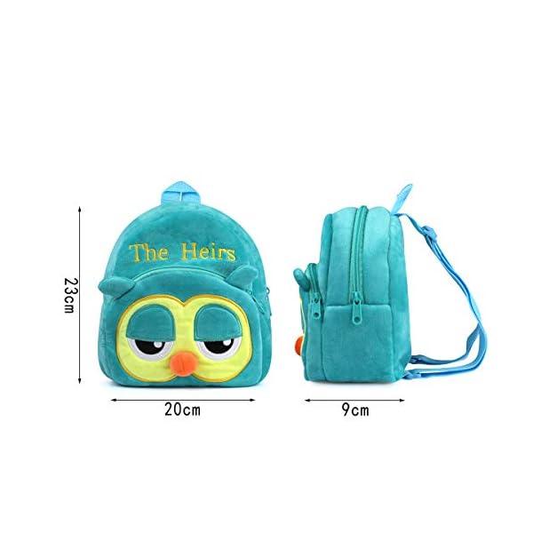 41 3SXt5CfL. SS600  - Mochila para Niños, 3D Mochila Infantiles Animal Bolsas Escolares de Niños Niñas Mochila para 2-6 Años