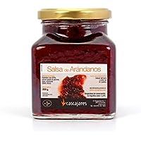 CASCAJARES - Salsa de Arándanos, guarnición perfecta para cualquier tipo de plato de carne.