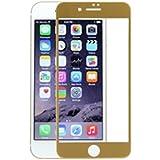 X-one XONE196666 - Carcasa de cristal templado 3D para Apple iPhone 7 Plus, color dorado