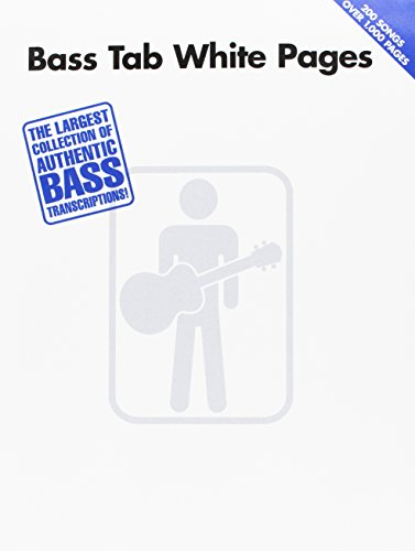 Bass tab white pages basse