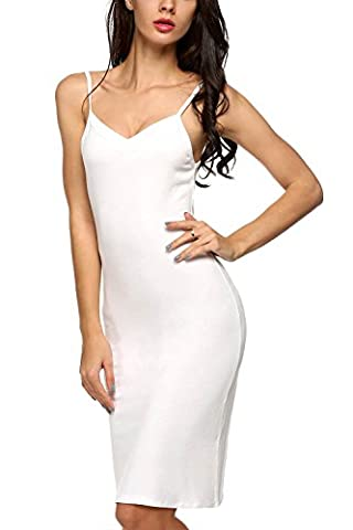 Cotton Full Slip for Under Dress, Ladies Sleep Nightie Chemise