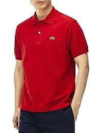 Lacoste Shirt L.12.12 Original Polo Herren red (L1212-240), 5, rot
