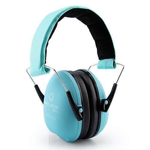 Gehörschutz Kinder und Jugendliche I Lärmschutz Kopfhörer für Kinder + Jugendliche von 3 bis 16 Jahre I PVC-freie Lärmschutzkopfhörer für Jungen & Mädchen (Mint)