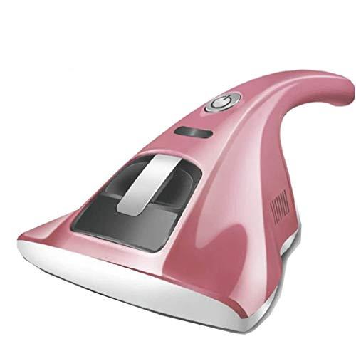 LXJ-LD Steamer,Anti-Dust Mites UV-Vakuumreiniger, Haushandheld UV-Vakuumreiniger, Anti-Bakterial-Portable für Matratzen Kissen Stoff Sofas Teppiche,Pink,110V