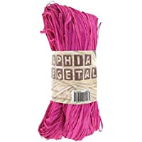 Rafia vegetal g-Ammi 50, color fucsia
