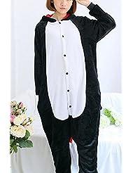 Pyjamas Adultes Pour Femmes Cosplay Costume Animal Épaississement de L'Hiver Tenue de Loisir