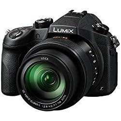 Panasonic Lumix Appareil Photo Bridge Expert DMC-FZ1000EF (Grand capteur type 1 pouce 20 MP, Zoom LEICA 16x F2.8-4.0, Viseur OLED, Ecran orientable, Vidéo 4K, Stabilisé) Noir - Version Française