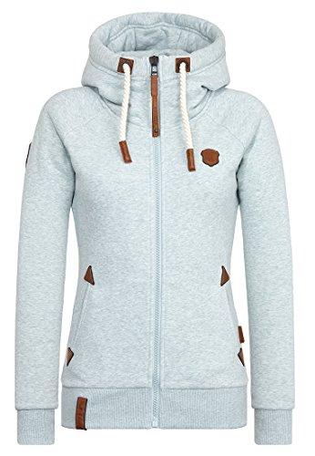 Naketano Female Zipped Jacket Blonder Engel Nasty Mint Melange, XXL
