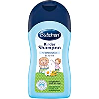 Bübchen Kinder Shampoo Haarshampoo (sanft zu den Augen, Waschlotion für empfindliche Kopfhaut, pH-neutral) 2 x 400 ml