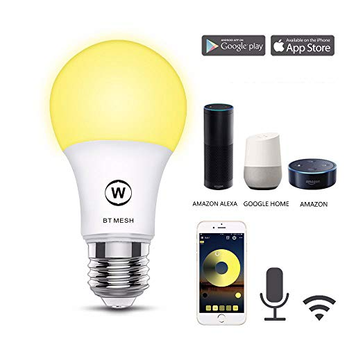 3er Pack 4.5W Bluetooth Birne Single-Tone Light Timing Unterstützung Fernbedienung Sprachsteuerung Zu Hause Bevorzugt