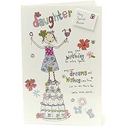 Fun Tochter Geburtstagskarte–sehr Special Daughter