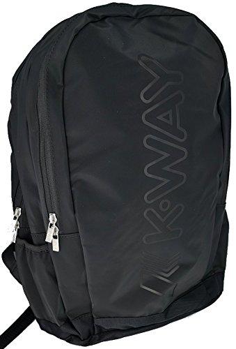 K-Way 7akk81230a201, Zaino Uomo, Nero (0A2 Black), 13x45x33 cm (W x H x L)