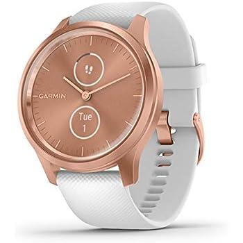 Garmin Vívomove 3 Classic - Reloj inteligente, color rose gold y blanco