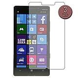 FG-Mobile 3 x Films de Protection d'écran Nokia Lumia 930 (Protège écran)