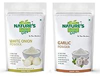 Onion Powder & Garlic Powder - 1 KG Each (Super Saver Combo Pack)