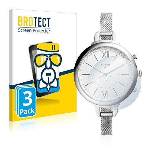 brotect Pellicola Protettiva Vetro Compatibile con Fossil Q Annette (3 Pezzi) Schermo Protezione Durezza 9H, Anti-Impronte,...
