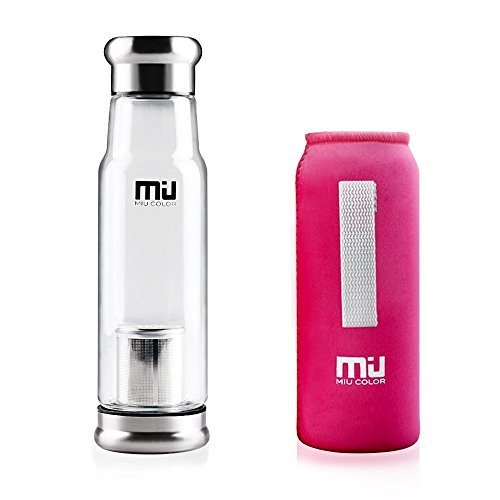 miu-color-elegante-portatile-550ml-flacone-in-vetro-borraccia-borsa-in-nylon-per-auto-rosarot-mit-te
