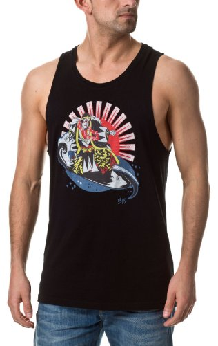 55dsl-t-shirt (Diesel 55DSL Herren Tank Top Tanzai Black Extra Large)