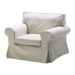 IKEA EKTORP - Housse de fauteuil, Svanby beige