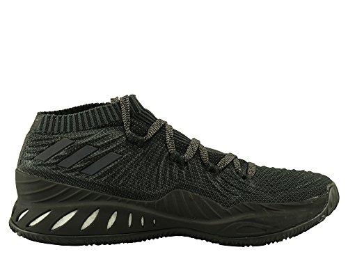adidas Crazy Explosive Low 2017 PK, Chaussures de Basketball Homme Noir (Core Black/grey Four F17/carbon S18)