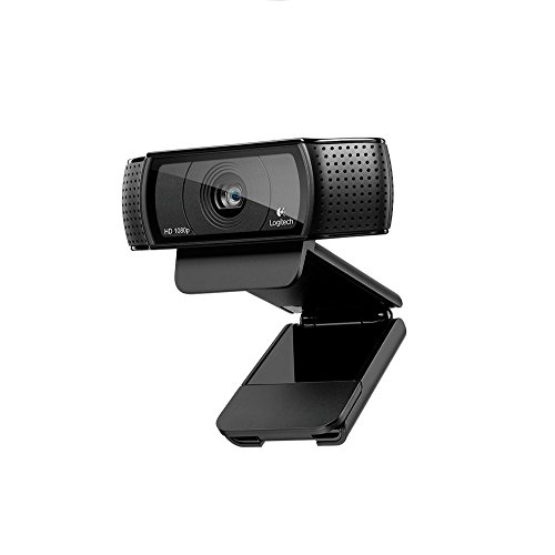 Logitech C920 Webcam Full HD, 1080p, Microfono Integrato e senza Treppiedi, Funziona con Xbox One