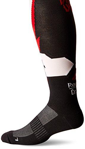 Reebok de hombre, Cruz ajuste rodilla calcetines - ABMNF15024, Negro