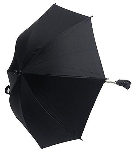 Bébé Parasol Compatible avec Chicco Trio Living Noir