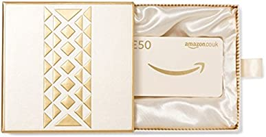 Amazon.co.uk Gift Card - In a Gift Box - £50 (Gold)