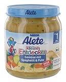 Alete - Kleine Entdecker Menü Gemüse mit Spaghetti & Pute - 220g
