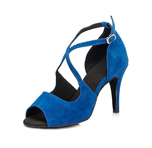 Miyoopark - Ballroom donna Blue-8.5cm heel