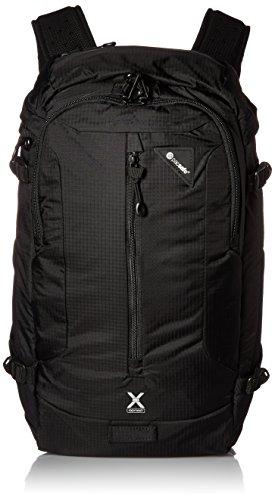 Pacsafe Venturesafe X22 Diebstahlschutz Adventure Rucksack, schwarz (schwarz) - 60410