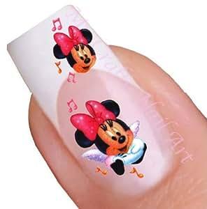 Minnie Mouse Nail Art Decal / Tattoo / Sticker