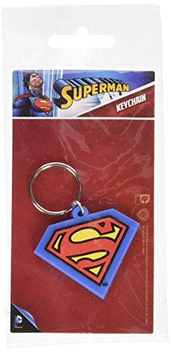 Superman Logo gomma portachiavi
