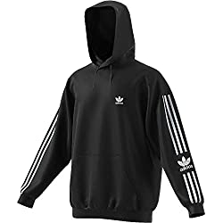 adidas Herren Lock UP Hoody Sweatshirt, Black, M