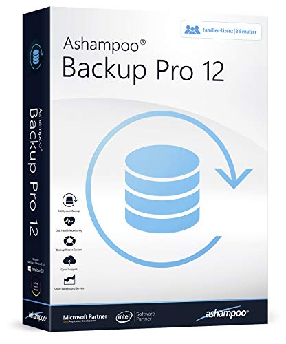 Backup Pro 12 Datensicherung Software für Windows 10, 8.1, 8, 7, Vista Image-backup