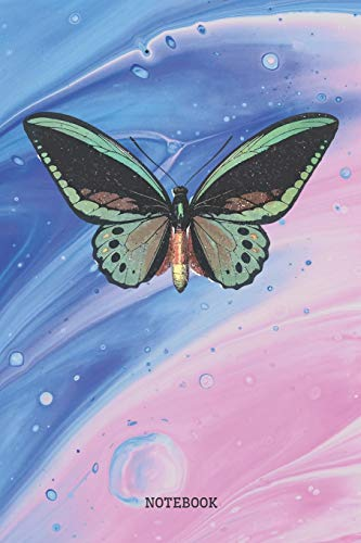tiful Magic Butterfly Planner / Organizer / Lined Notebook (6