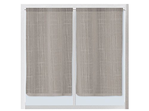 Tende Per Interni Color Tortora : Soleil d ocre lino paio di tende parafreddo in lino