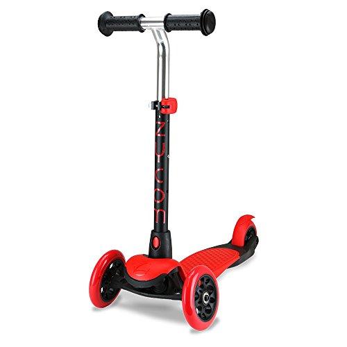 Zycom Kinderscooter Zing Kinderroller Scooter Roller Tretroller Cityroller Kickboard Kickscooter (rot/schwarz)