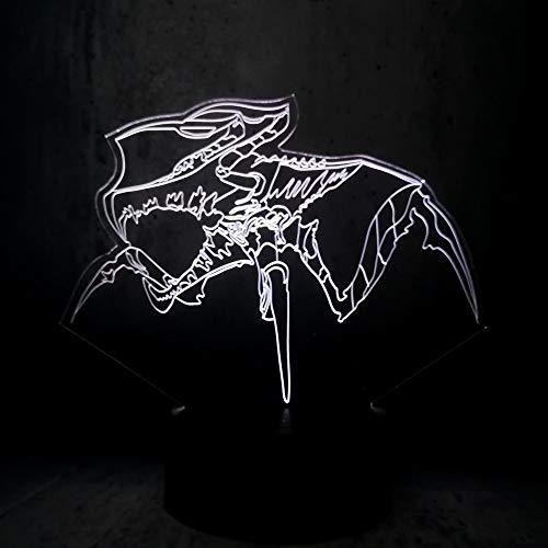 en 3D Lampe Geschenk Anzeige Teenager Raum Dekor Coole Jungen Geschenke Led Birne ()