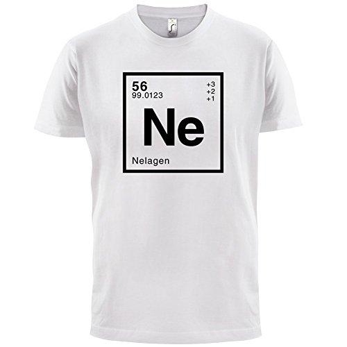 Nela Periodensystem - Herren T-Shirt - 13 Farben Weiß
