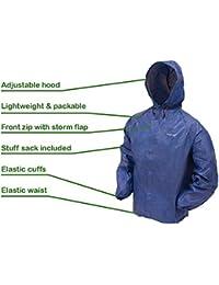 Bob Herren LONG429T429CHINA Blau Kunststoff Mantel: Amazon
