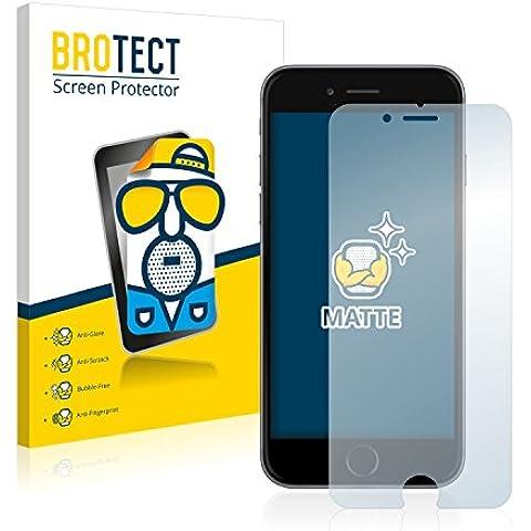 2x BROTECT Matte Pellicola Protettiva Opaca per Apple iPhone 6S Proteggi Schermo Opaco, (Invisibile Opaco)