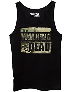 Canotta THE WALKING DEAD CITY SKYLINE - FILM by Mush Dress Your Style